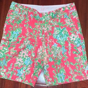 NWT Lilly Pulitzer Southern Charm Chipper Shorts